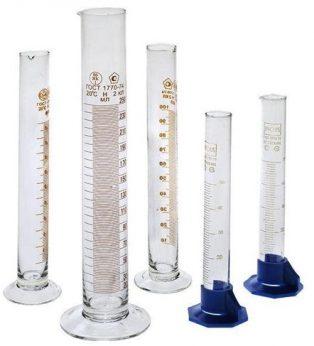 Цилиндры для ареометров стеклянные